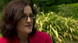 Theresa Villiers said she condemned Mr McConnell's remarks