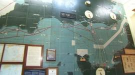 D-Day map at Southwick House