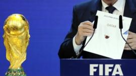 Qatar revealed as host of the 2022 Fifa World Cup