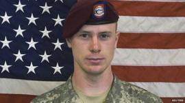 American soldier Bowe Bergdahl