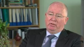 Michael Maguire is taking legal action in an attempt to force Mr Baggott to hand over sensitive intelligence material