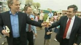 Tony Blair and Gordon Brown in 2005