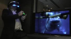 Rory Cellan-Jones tries out Project Morpheus