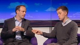 Dominic Raab and Owen Jones