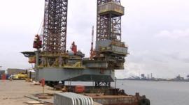 Oil rig repair