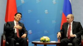 Russia president and China's vice president