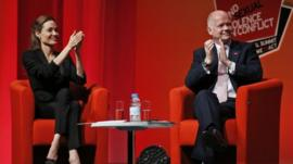 Angelina Jolie & William Hague