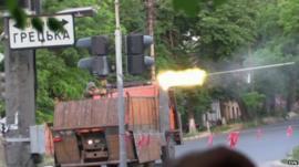 Battle in Mariupol