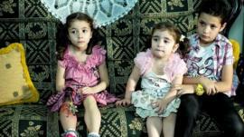 Widad (l), Limar (c) and Hasan Sarkhosh