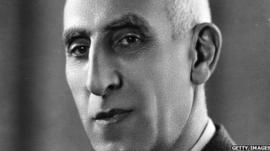 Mohammad Massadeq, overthrown Iranian prime minister