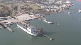 Marchwood Military Port