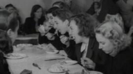 Archive of people eating