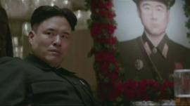 Actor playing Kim Jong-un