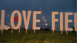 Glastonbury's Love Field