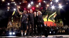 Metallica at Glastonbury Festival