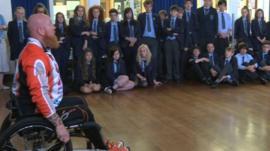 Paralympian to inspire Manx children