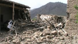 Aftermath of Pakistan military strike in North Waziristan