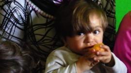 Syrian refugee child in Gaziantep, Turkey