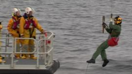 Baton delivered to RNLI boat