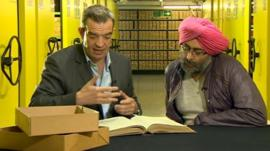Giles Dilnot and Hardeep Singh Kohli