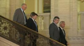 Unionists at Stormont