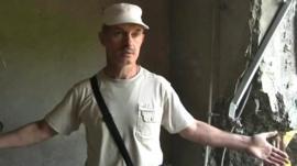 Ukrainian civilian
