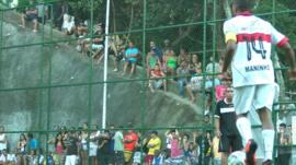 World Cup in Rocinha