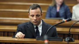 Oscar Pistorius in court on Tuesday