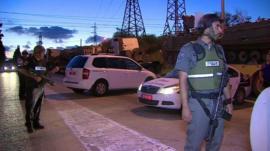 Patrols near Israel's border with Gaza