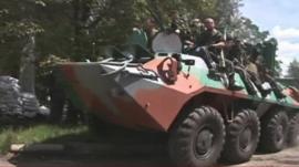 Pro-Russian separatists