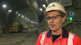 Crossrail engineer Olivia Perkins