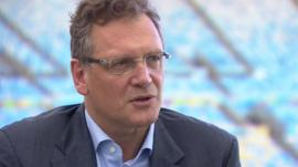Fifa General Secretary Jerome Valcke