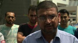 Hamas spokesman, Sami Abu Zuhri