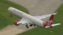 Virgin Atlantic VS43 emergency landing