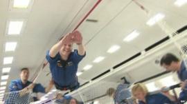 Major Tim Peake and astronauts