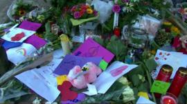 Tributes to MH17 victims