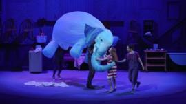 Elephantom on stage