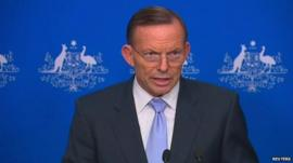 Australian Prime Minister, Tony Abbott