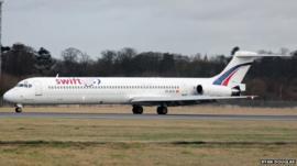 Swift Air plane