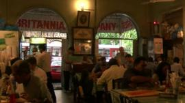 Parsi cafe, Mumbai