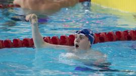 Scottish swimmer Ross Murdoch