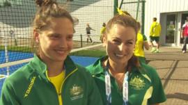 Brooke Peris and Jayde Taylor