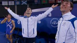 Scotland's artistic gymnastics team