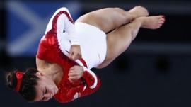 England gymnast Claudia Fragapane