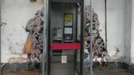 Defaced Banksy