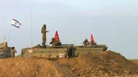 Israeli army units