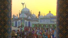 Sufi shrine of Shah Abdul Latif Bhittai