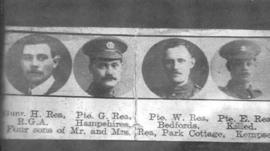 Members of the Rea family