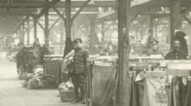 The WW1 Regent's Park post sorting office
