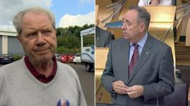 Jim Sillars and Alex Salmond